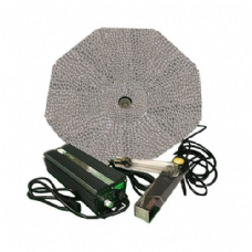 Solistek 600W Digital Ballast, Solistek 600W Bulb With Parabolic Reflector ( Silver, 1000mm ) Lighting Kit